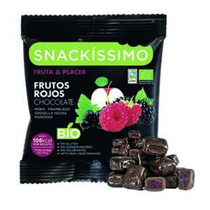 Snackíssimo Frutos Rojos Chocolate Bio