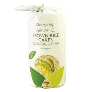 Tortas de Arroz Integral con Chia y Quinoa