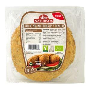 Pan de Pita Multicereales y Semillas