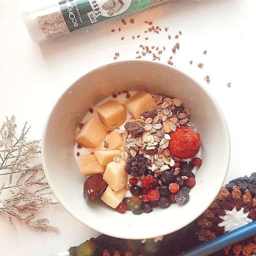Receta de Porridge con Sésamo