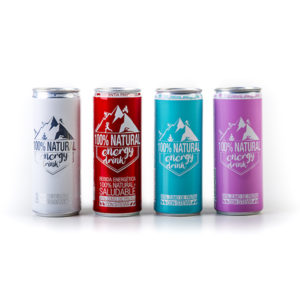 100% Natural Energy Drink 250 ml