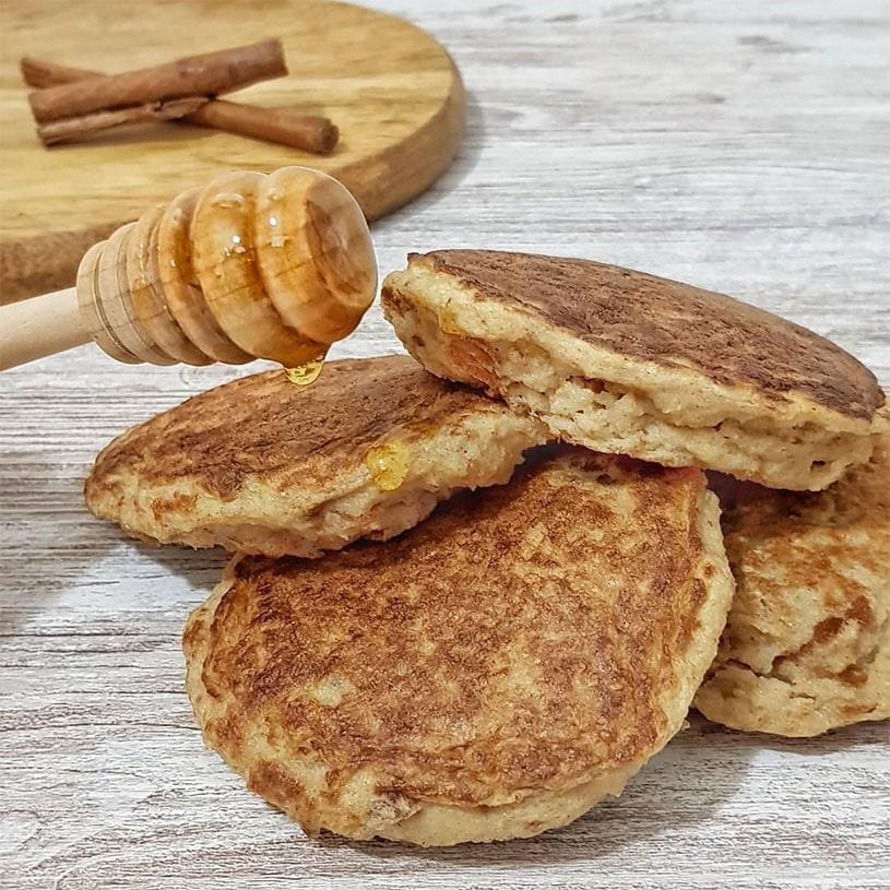 Receta de Tortitas Saludables De Torrijas