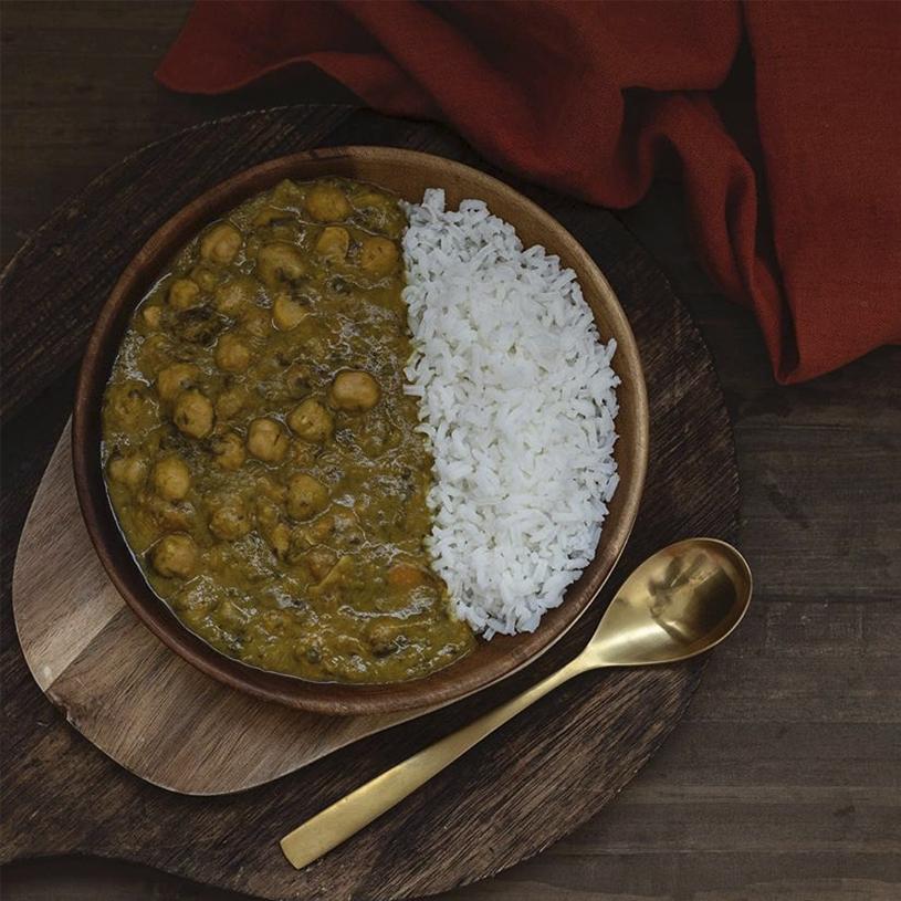 Receta de Garbanzos al Curry