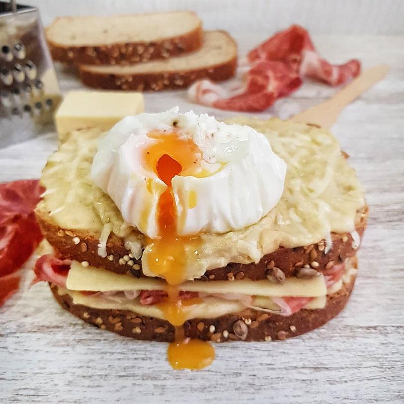 Receta de Sandwich Francés