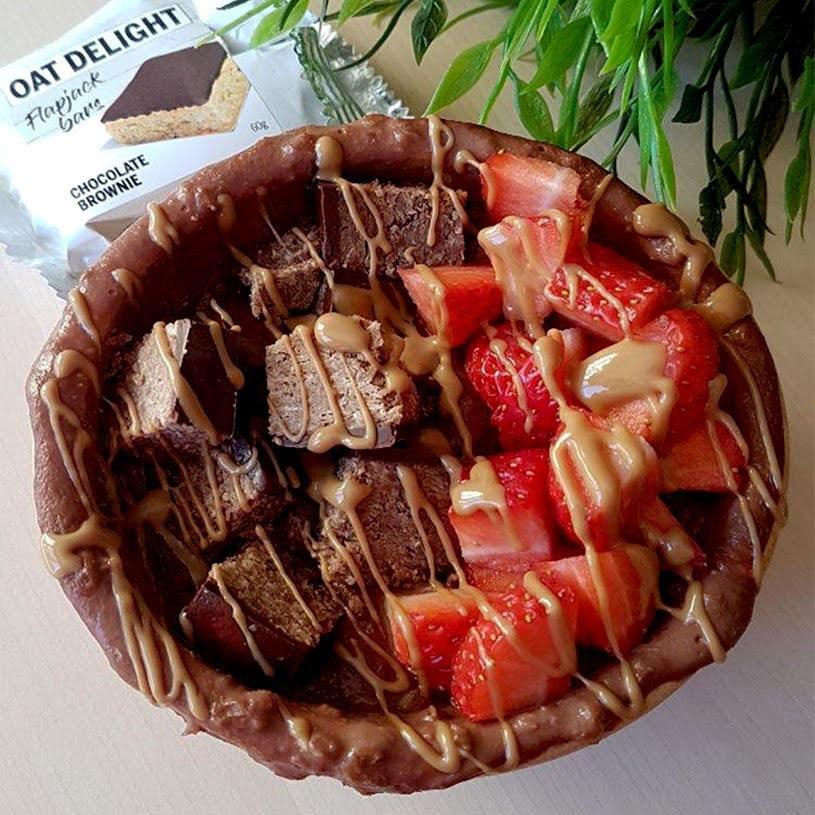 Receta de Gachas de Avena con Chocolate