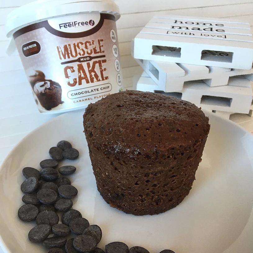 Receta de Mugcake de Chocolate