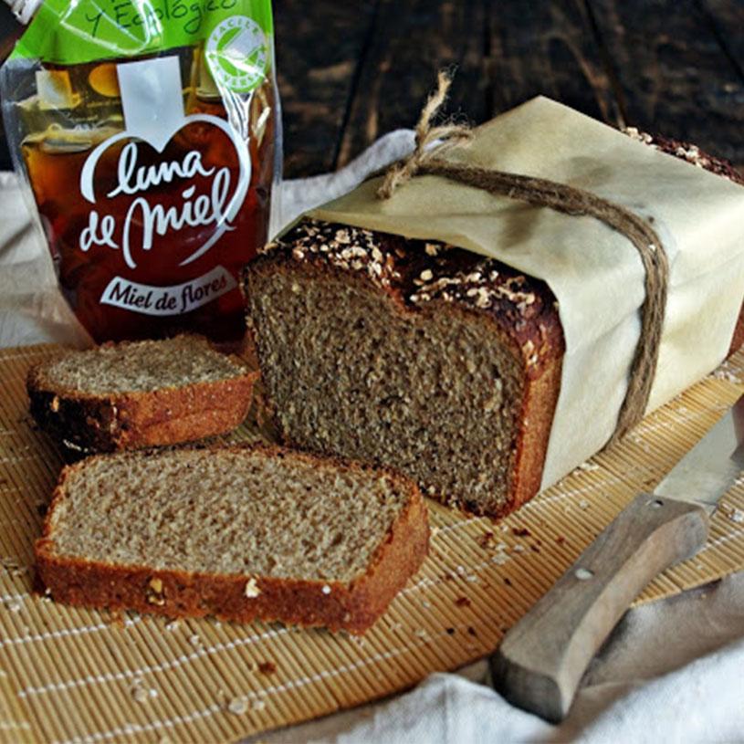 Receta de Pan de avena y miel integral