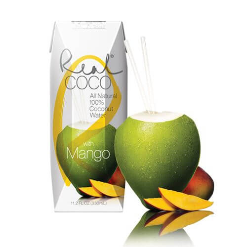Agua de Coco con Mango de Real Coco