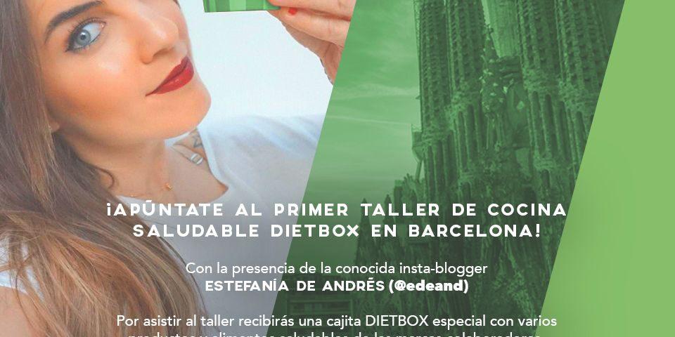 Taller de cocina saludable dietbox barcelona 12 de marzo - Taller cocina barcelona ...