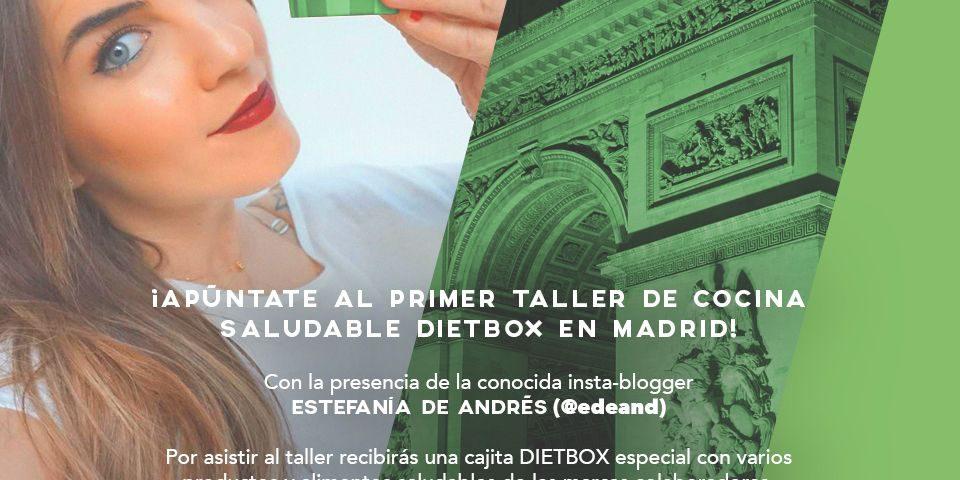 Taller De Cocina Madrid   Taller De Cocina Saludable Dietbox Madrid 16 De Abril Dietbox