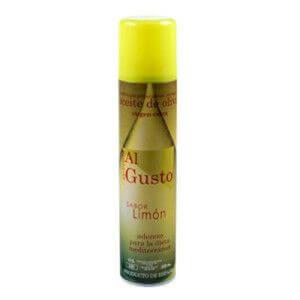 Aceite de Oliva en spray AlGusto sabor Limón