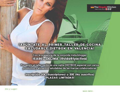 Taller de cocina saludable dietbox madrid 16 de abril - Talleres de cocina en valencia ...