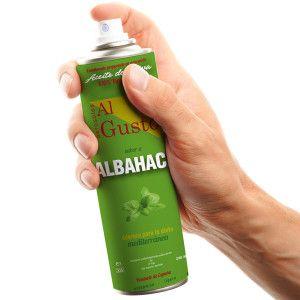 Aceite de Oliva en spray AlGusto sabor Albahaca
