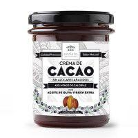Crema de Cacao con Aceite de Oliva 200gr