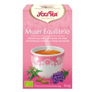 Yogi Tea Equilibrio Mujer