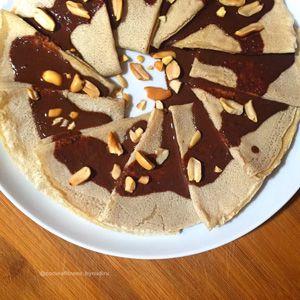 Crepes de avena dietbox for Cocina fitness by nudiru