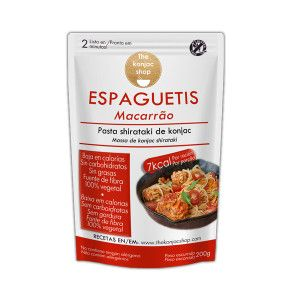 konjac shirataki espaguetis