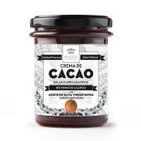 Crema de Cacao sabor Mandarina con Aceite de Oliva 200gr