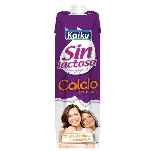 leche kaiku sin lactosa con calcio