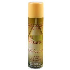 Aceite de Oliva en spray sabor mantequilla