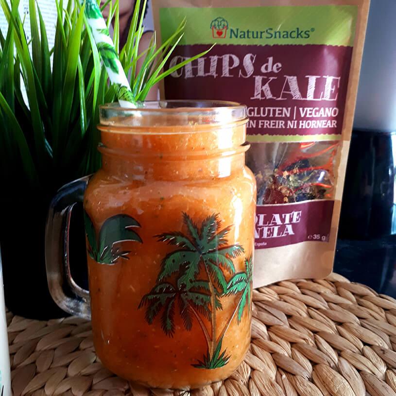 Smoothie de antioxidantes, carotenos y vitamina C