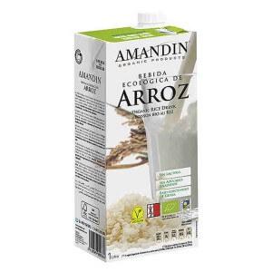 Bebida de Arroz ecológica 1L