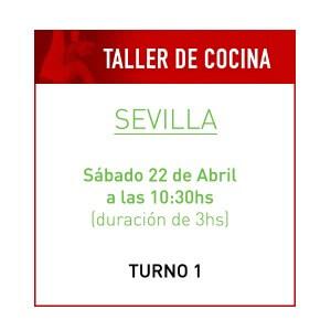 Taller de Cocina Saludable en Sevilla Turno 1