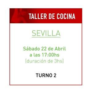 Taller de Cocina Saludable en Sevilla Turno 2
