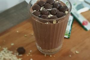 Mousse de chocolate saludable 2