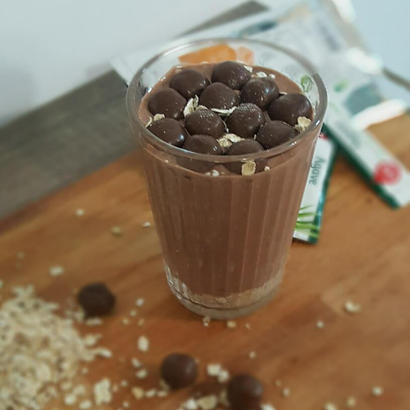 Mousse de chocolate saludable