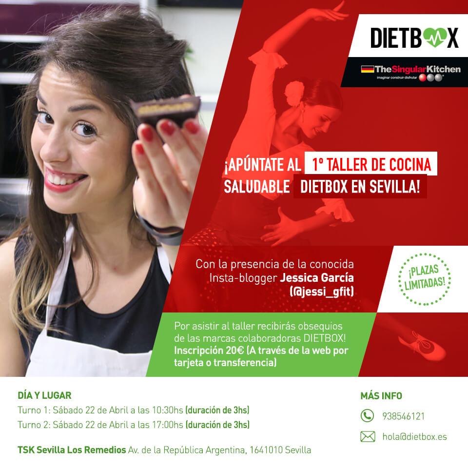 Taller de cocina saludable DIETBOX Sevilla - 22 de Abril