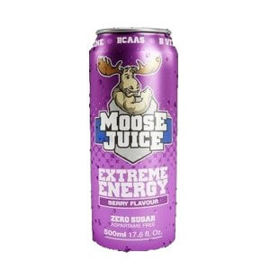 Moose Juice Extreme Energy Berry 500ml