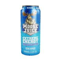 Moose Juice Extreme Energy Raspberry 500ml