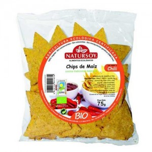 Chips de Maiz con chili 75gr