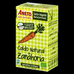 Caldo de Zanahoria ecológica Aneto 1L