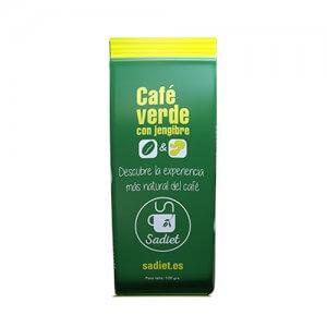 Café verde con jengibre molido Sadiet 100gr