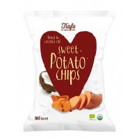 Chips de Boniato con aceite de coco 80gr