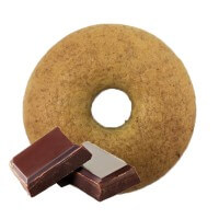 Mr Yummy Chocolate Bagel 60gr