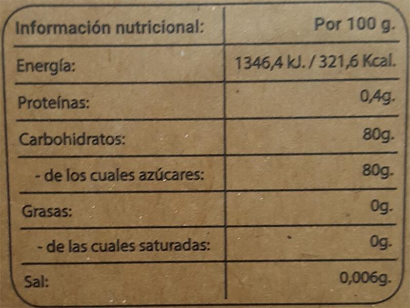 Curccumel ecológico 165gr etiqueta