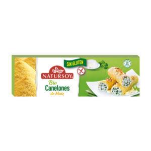 Canelones de maíz sin gluten Natursoy 250gr