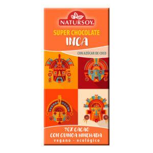 Chocolate Inca con quinoa hinchada 100gr