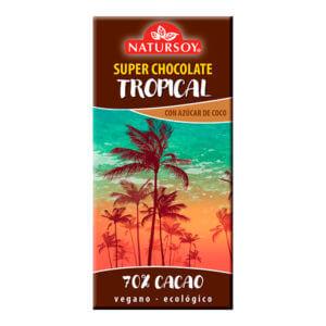 Chocolate Tropical con azúcar de coco 100gr