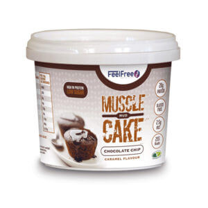 Muscle Cake chocolate 65gr