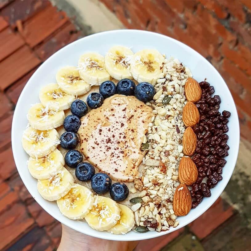 Receta de Porridge de piña