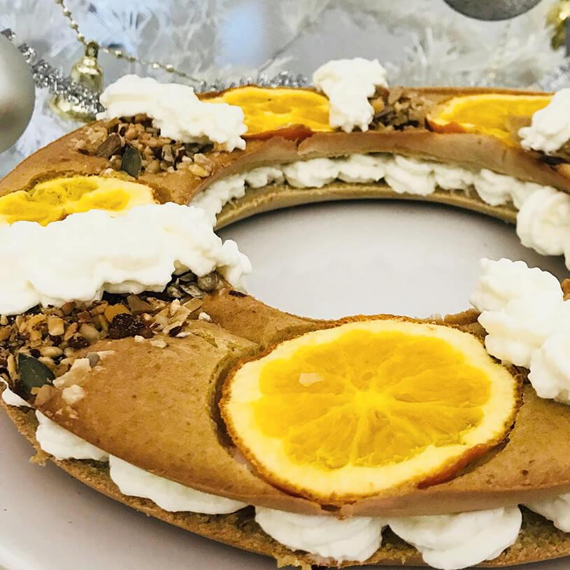 Receta de Roscón de Reyes saludable