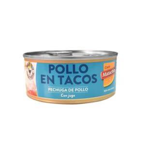 Tacos de pollo al natural 160gr