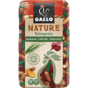 Hélices Gallo Natura Multivegetales 400gr
