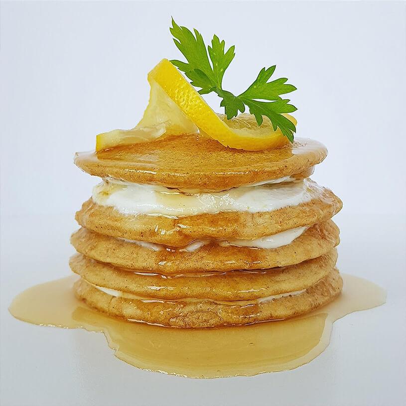 Receta de Tortitas de limón