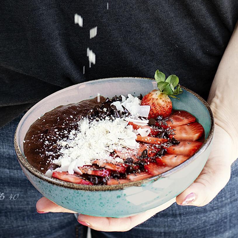 Receta de Bowl de quinoa y chocolate