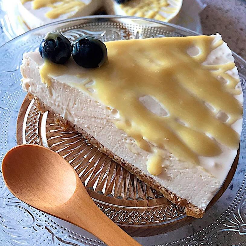 Receta de CheeseCake saludable de limón